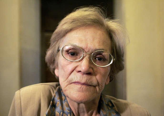 Louisette Ighilahriz, ancienne militante FLN, a été capturée par l'armée française puis torturée et violée.