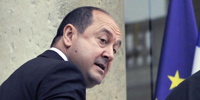 Le patron du contre-espionnage français, Bernard Squarcini, à Paris en juillet 2010.