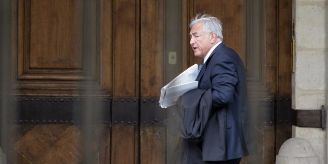 Dominique Strauss-Kahn, le 27 avril 2011 à Paris.