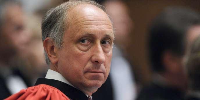 Le procureur de Nanterre, Philippe Courroye, le 2 septembre 2010.