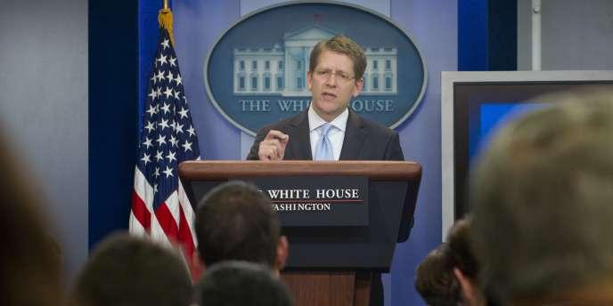 Jay Carney, porte-parole de la Maison Blanche.
