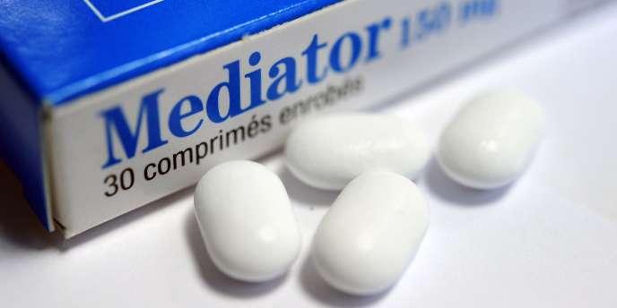 Le Mediator est soupçonné d'être à l'origine d'au moins 1 300 décès en France entre 1976 et 2009.
