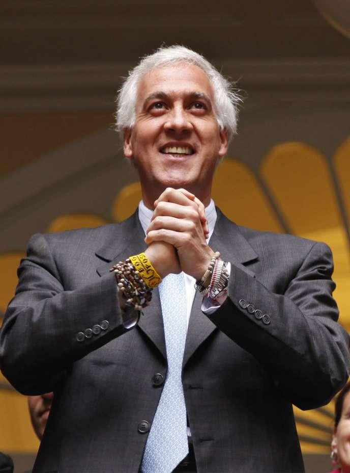 La maire de Bogota, Samuel Moreno, a fait savoir, mercredi 4 mai, qu'il n'avait pas l'intention de démissionner.