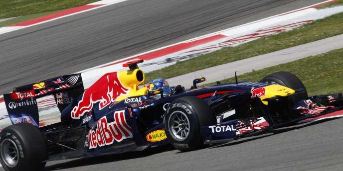 Vettel a été le plus rapide samedi sur le circuit d'Istanbul.