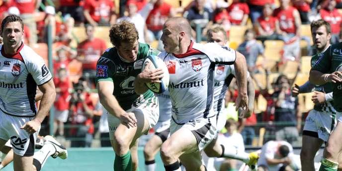 Lyon a gagné dimanche sa place au sein de l'élite du rugby français, le Top 14.