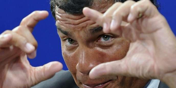Le président équatorien, Rafael Correa, samedi 7 mai.