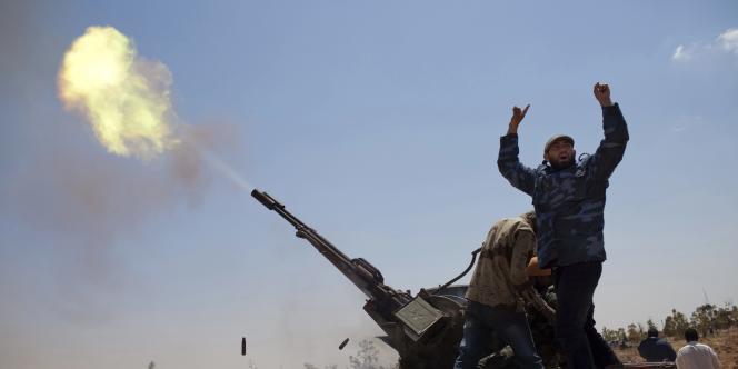 Les rebelles réclament régulièrement des armes pour faire face aux forces gouvernementales.