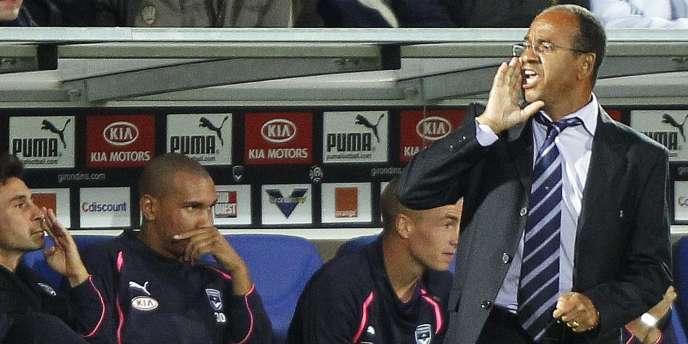 Jean Tigana contre Lyon le 19 septembre.