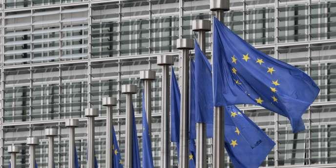 Le siège de la Commission européenne, à Bruxelles.