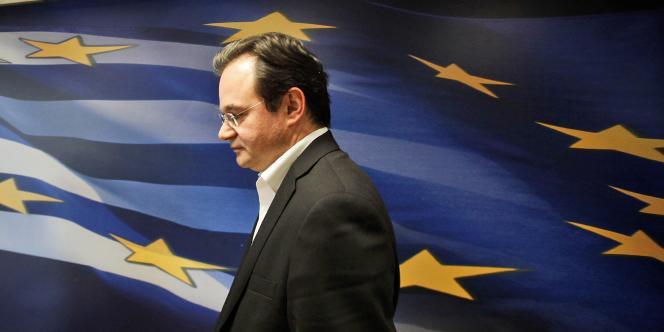 Georges Papaconstantinou, ministre des finances d'octobre 2009 à juin 2011.