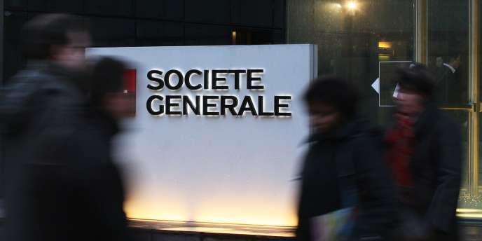La Société générale a quasiment triplé son bénéfice net en 2013, à 2,18 milliards d'euro.
