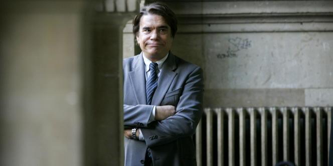 Bernard Tapie à la cour d'appel de Paris le 19 octobre 2005.