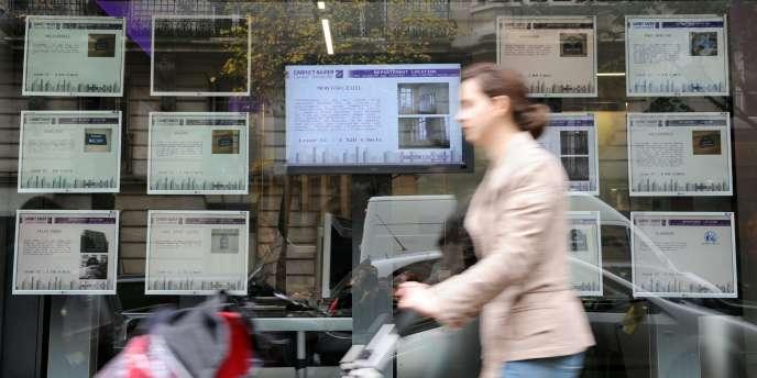 A Paris, les prix de l'immobilier repartiraient à la hausse.
