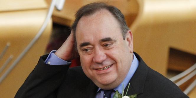 Alex Salmond, le 11 mai 2011 à Edinbourg.
