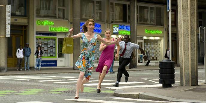 Une scène du film franco-belge de et avec Dominique Abel, Fiona Gordon et Bruno Romy,