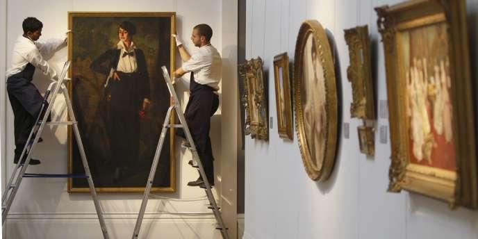 Dans leurs derniers chiffres, les douanes notent un déplacement inhabituel d'œuvres d'art, notamment vers la Suisse, d'une valeur proche de 300 millions d'euros.