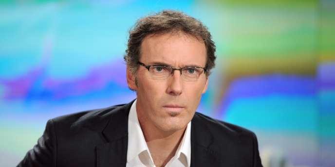 Laurent Blanc était l'invité du 20 heures de TF1, vendredi.