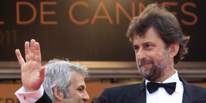Le cinéaste italien Nanni Moretti au 64e Festival de Cannes, le 13 mai 2011.