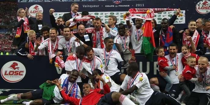 Lille a remporté la Coupe de France 2011 samedi face au PSG.