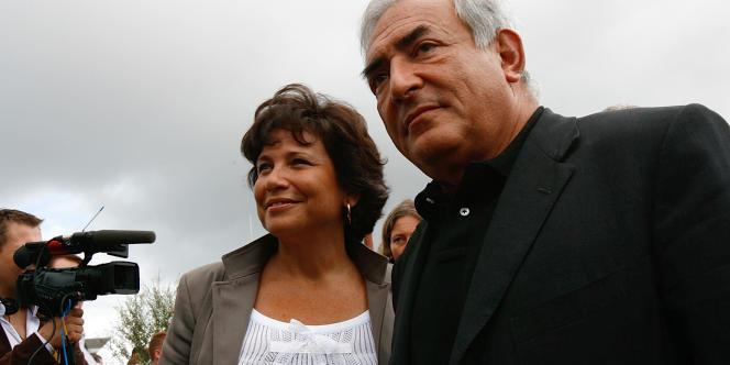 DSK et sa femme, Anne Sinclair, en août 2006.