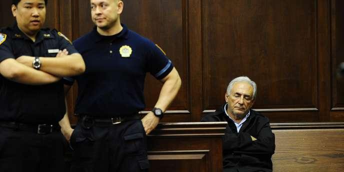 Dominique Strauss-Kahn, le 16 mai 2011, à la cour criminelle de Manhattan.