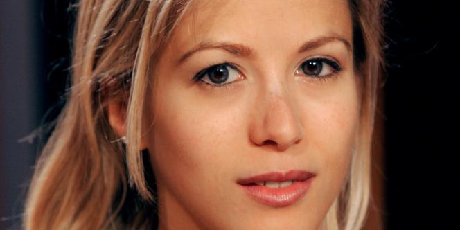 Tristane Banon, journaliste et romancière, en septembre 2004 à Paris.