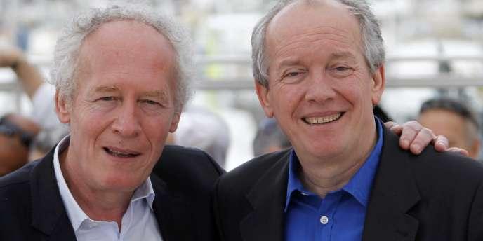 Emmenés par les frères Jean-Pierre et luc Dardenne, cinéastes et acteurs se sont mobilisés jusqu'à la victoire, vendredi 14 juin,  pour écarter l'audiovisuel et le cinéma des négociations de libre échange entre les Etats-Unis et l'Europe.
