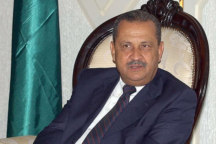 Chokri Ghanem, président de la compagnie pétrolière libyenne NOC.