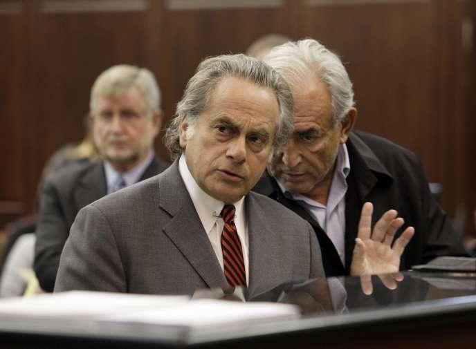 Benjamin Brafman, l'avocat de Dominique Strauss-Kahn, le 16 mai 2011, à New York.