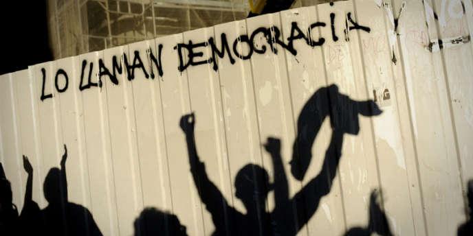 Dimanche 15 mai, une manifestation a rassemblé près de 60 000 personnes à Madrid.
