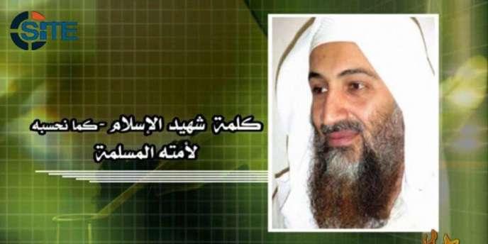 Image d'Oussama Ben Laden diffusée dans le message, mis en ligne sur les forums djihadistes.