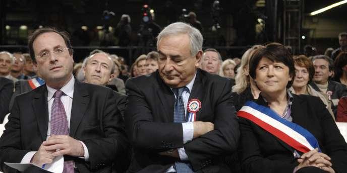 La clé de compréhension de l'affrontement entre François Hollande et Martine Aubry est à chercher du côté d'un troisième personnage : Dominique Strauss-Kahn.