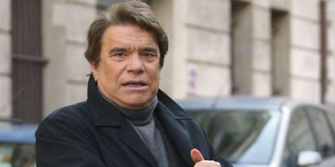 Bernard Tapie, le 15 janvier 2008 à Paris.