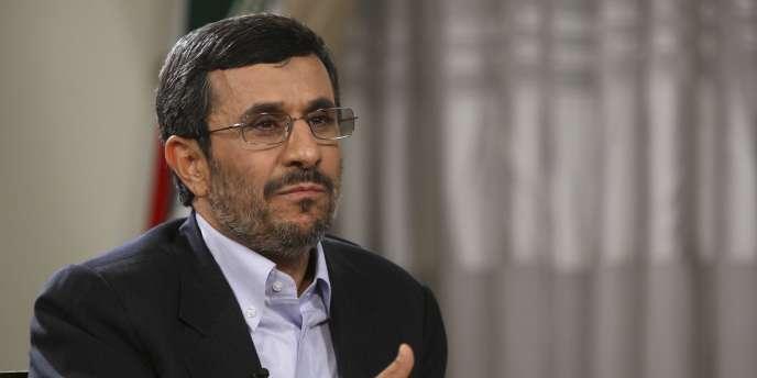 Le président iranien, Mahmoud Ahmadinejad, le 15 mai 2011 à Téhéran.