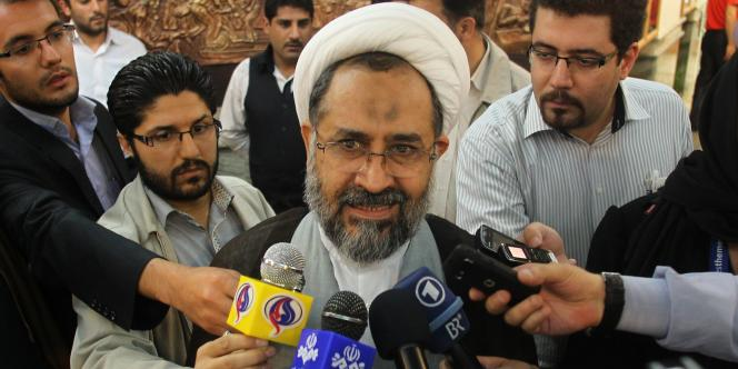 Le ministre iranien des renseignements, le 21 mai 2011.