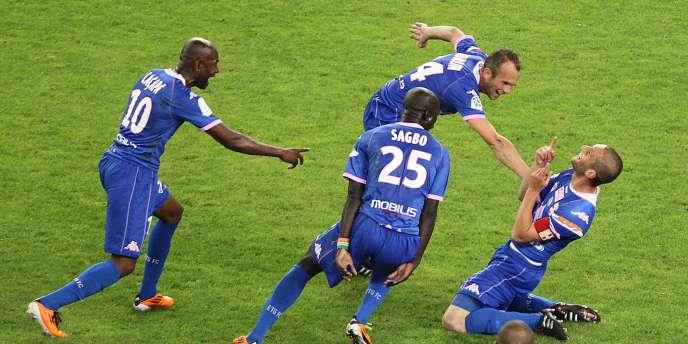 Evian Thonon Gaillard est l'un des promus en Ligue 1 cette saison.