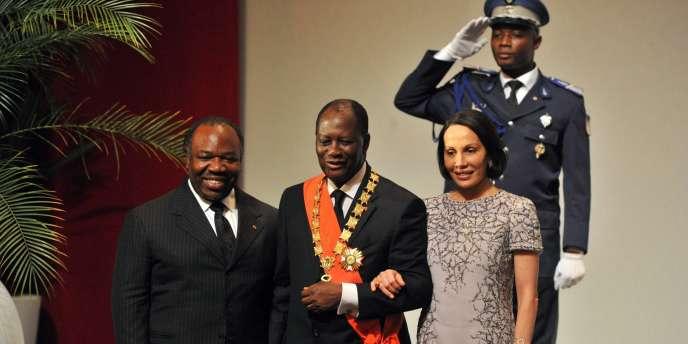 Au pouvoir depuis l'arrestation le 11 avril de M. Gbagbo après 15 jours de combats, M. Ouattara a été solennellement investi.