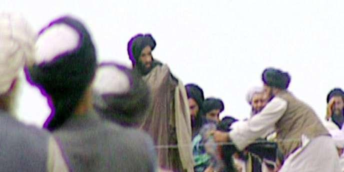 Le mollah Omar en 1996.