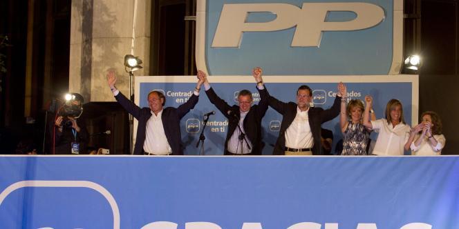 Le Parti populaire espagnol est le grand gagnant des scrutins municipaux de dimanche.
