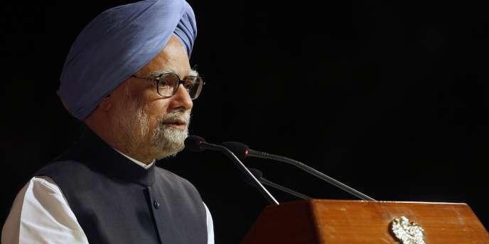 Le premier ministre indien Manmohan Singh, le 22 mai 2012 à New Dehli.