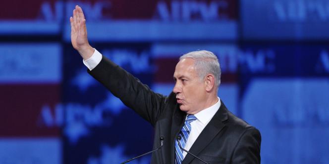 Le chef du gouvernement israélien a fait savoir qu'il présenterait, mardi 23 mai, devant le Congrès américain, sa vision pour une