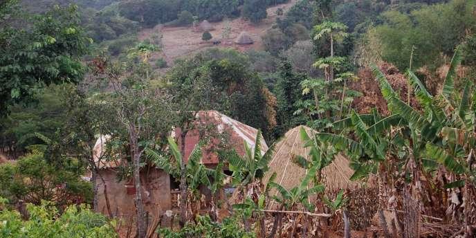 Le village guinéen de Tchakulé où serait née Nafissatou Diallo, la femme de chambre qui accuse DSK de tentative de viol.