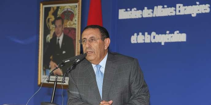M. Amrani, secrétaire général du ministère des affaires étrangères marocain