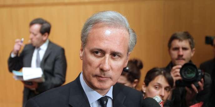 L'ancien secrétaire d'Etat à la fonction publique et maire UMP de Draveil (Essonne) Georges Tron, le 19 avril 2011, à Paris.