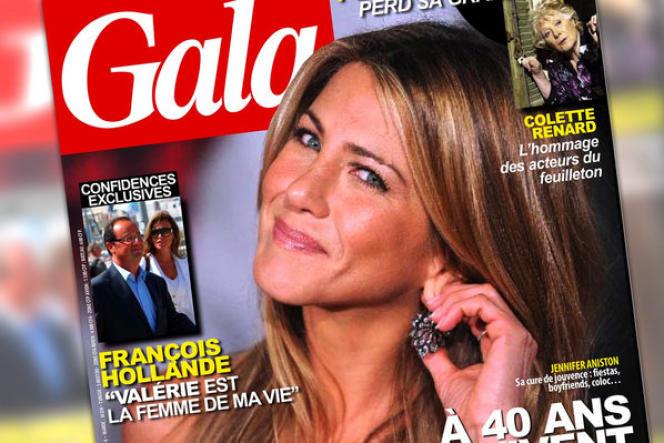 François Hollande a officialisé sa relation avec la journaliste Valérie Trierweiler (Direct 8, Paris Match), dans le magazine Gala, en octobre 2010.