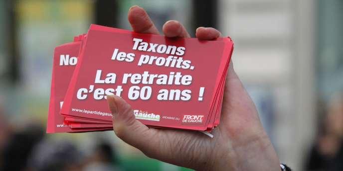 Cette mesure est l'une des promesses de François Hollande et une première brèche dans la réforme de 2010.