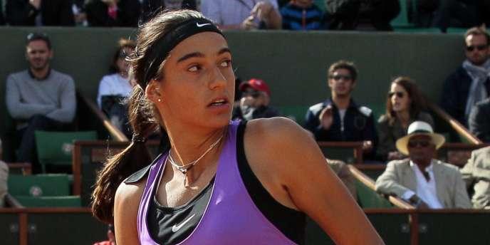 Caroline Garcia, le 26 mai à Roland-Garros.