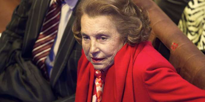 Liliane Bettencourt, en octobre 2010.