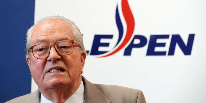 Jean-Marie Le Pen en 2009.