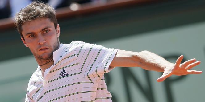 Gilles Simon joue contre Soderling lundi à Roland-Garros.